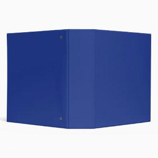Blue Vinyl Binder