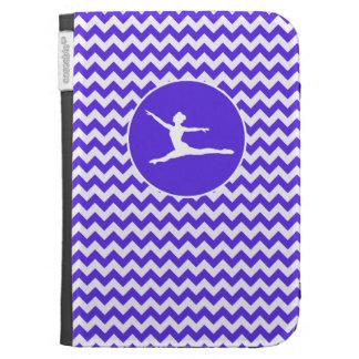 Blue Violet Chevron; Ballet Kindle Keyboard Cases