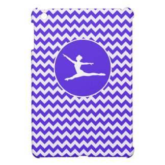 Blue Violet Chevron; Ballet iPad Mini Cover