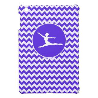 Blue Violet Chevron; Ballet iPad Mini Covers