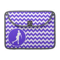 Blue Violet Chevron; Figure Skating Sleeve For MacBook Pro