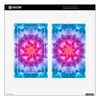 Blue Violet Decals For Kindle Fire