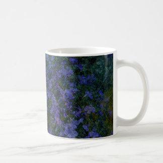 Blue Violet Garden Mugs