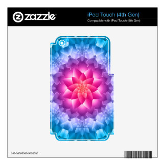 Blue Violet iPod Touch 4G Skin