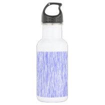 Blue-Violet-Orchid-Render-Fibers-Pattern Stainless Steel Water Bottle