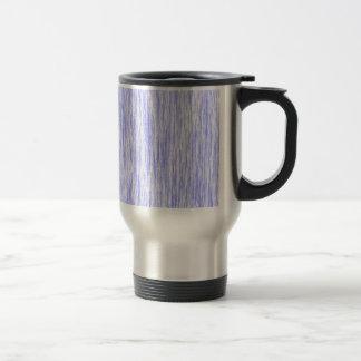 Blue-Violet-Orchid-Render-Fibers-Pattern Travel Mug