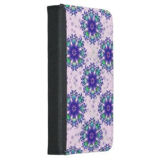 Blue Violet Perennial Galaxy S5 Phone Wallet Case