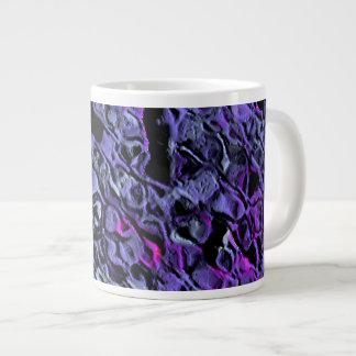 """Blue-Violet Swarm"" Large Coffee Mug"