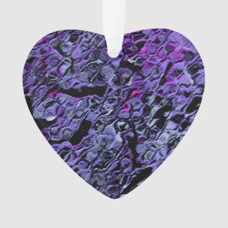 """Blue-Violet Swarm"" Ornament"