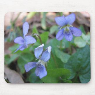 Blue Violets Mousepad