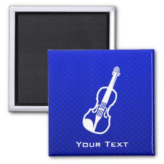Blue Violin Refrigerator Magnets