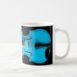 Blue Violin / Viola Mug