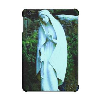 Blue Virgin Mary Statue iPad Mini Case