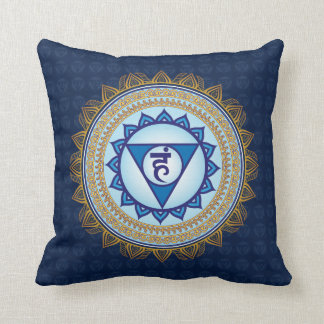 Blue Vishudda, 5th Chakra, Throat Chakra Pillow