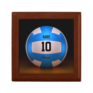 Blue Volleyball Gift Box