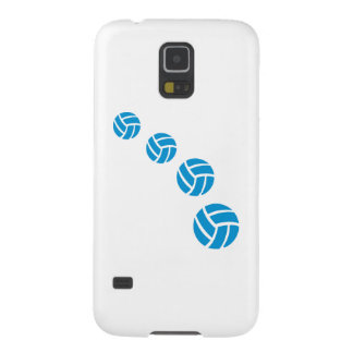 Blue volleyballs galaxy s5 cover