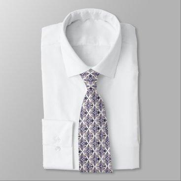 Professional Business Blue Vonster Pattern Tie