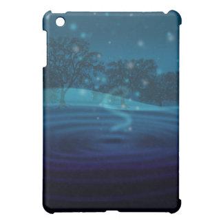 Blue Vortex Cover For The iPad Mini