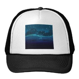Blue Vortex Trucker Hat