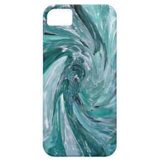 Blue Vortex iPhone SE/5/5s Case