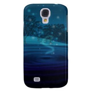 Blue Vortex Samsung S4 Case