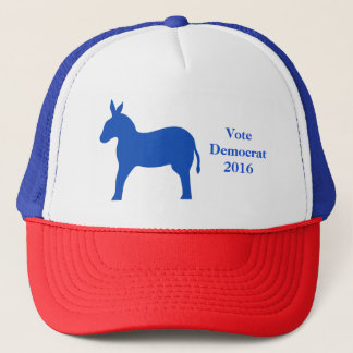 Blue Vote Democrat 2016 Election Donkey Trucker Hat