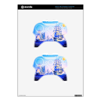 blue voyage to serenity xbox 360 controller decal