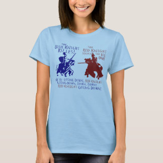 Blue vs Red Knight T-Shirt