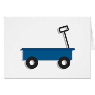 Blue Wagon Card
