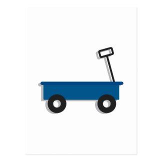 Blue Wagon Postcard