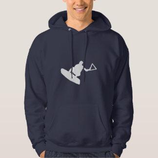 Blue Wakeboarder Hoodie