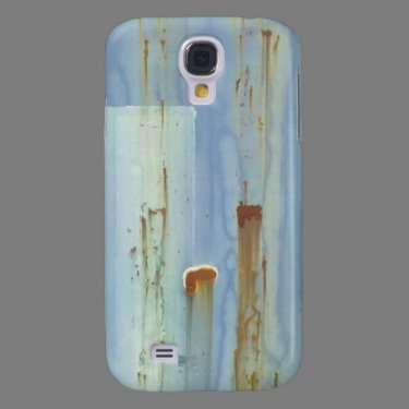 Blue Wall Galaxy S4 Cases