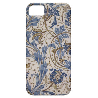 blue wall paper iPhone SE/5/5s case