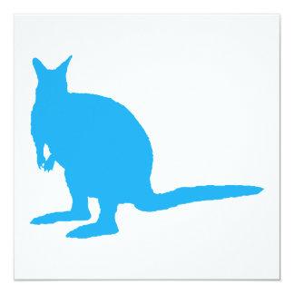 Blue Wallaby. Invitation