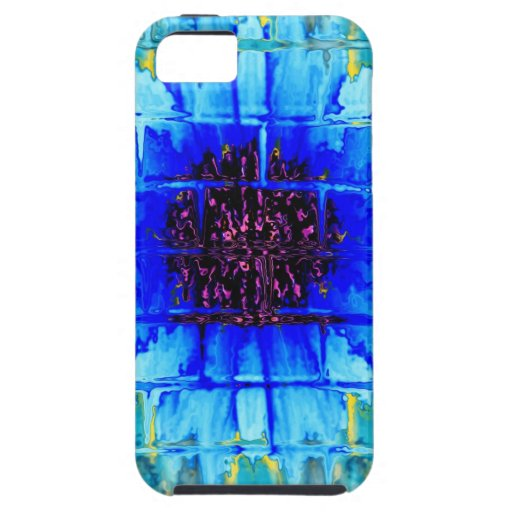Blue Wallflower iPhone 5 Covers