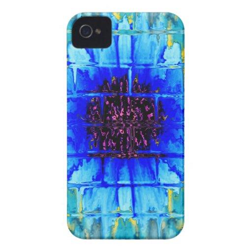 Blue Wallflower Case-Mate iPhone 4 Case