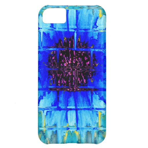 Blue Wallflower iPhone 5C Covers