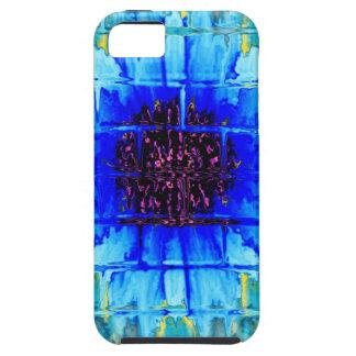 Blue Wallflower iPhone SE/5/5s Case