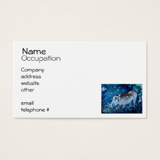 Blue Warthog Business Card