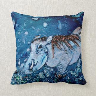 Blue Warthog Pillows