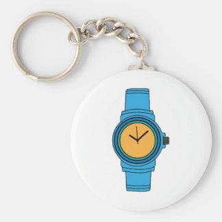 Blue Watch Keychains