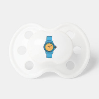 Blue Watch Baby Pacifiers