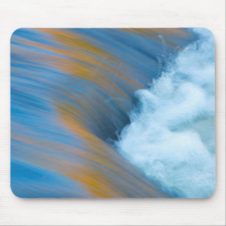 Blue water abstract, Canada Mouse Pad
