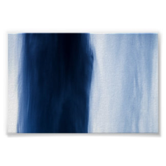 Blue Water Abstract Print