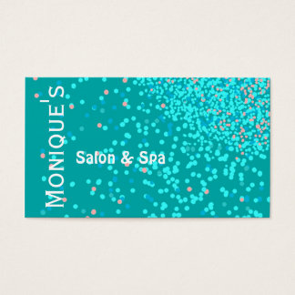 Blue Water Abstract Spa salon gift certificate
