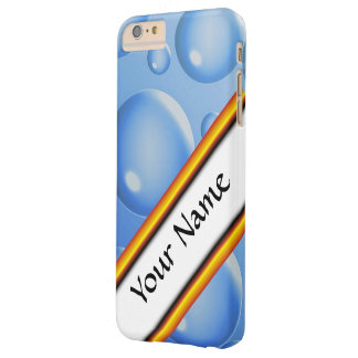 Blue Water air bubbles Barely There iPhone 6 Plus Case