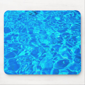 blue water background Mousepad