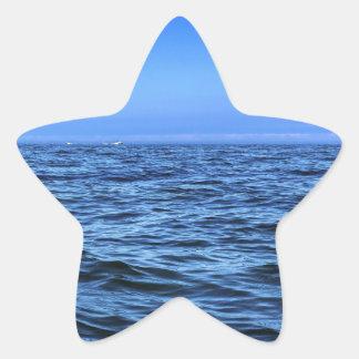 Blue Water Blue Sky Star Sticker