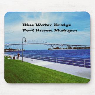 Blue Water Bridge memorabilia Mouse Pad