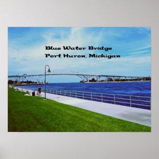 Blue Water Bridge memorabilia Print